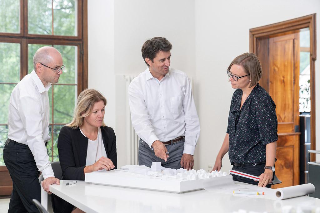 Rheineck, St. Gallen, Schweiz, 18. September 2019 - RLC Architektur, Image Bilder.